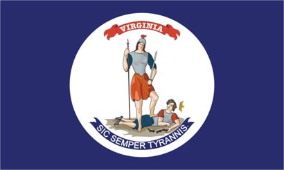 The Virginia State Flag