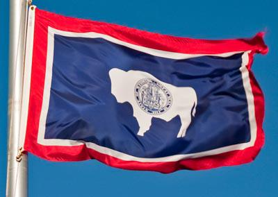 State of Wyoming Flag