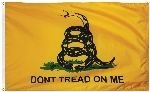 Gadsden Historical Flag - 4' x 6' - Nylon