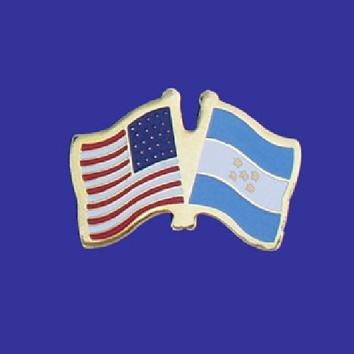 Honduras Lapel Pin - Double