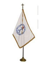 United Church of Christ Flag w/ Pole Hem - 4' x 6' - Nylon