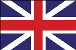 "British Union Stick Flag - 4"" x 6"" - Endura-Gloss"