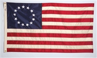 Betsy Ross Flag - 5' x 8' - Aniline Dyed Nylon