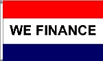 We Finance Message Flag - 3' x 5' - Nylon