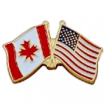 Canada Lapel Pin - Double